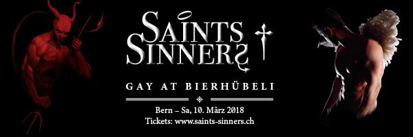 10. März: Saints+Sinners im Bierhübeli